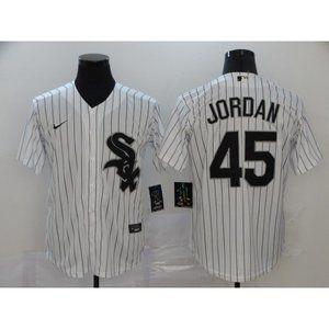 Chicago White Sox Michael Jordan White Jersey